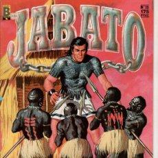 Cómics: JABATO Nº 35. EL SECRETO DE LA ISLA. EDICIONES B. GUPO ZETA. . Lote 18012212