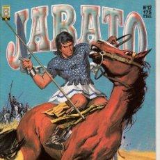 Cómics: JABATO Nº 12. LA LUCHA CON NUMA. EDICIONES B. GUPO ZETA. . Lote 18012318