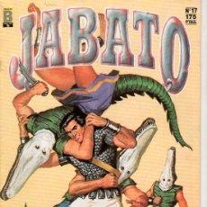 Cómics: JABATO Nº 17. LA SOMBRA DEL COCODRILO. EDICIONES B. GUPO ZETA. . Lote 18012398
