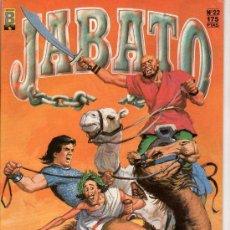 Cómics: JABATO Nº 22. LA VOZ DEL GIGANTE. EDICIONES B. GUPO ZETA. . Lote 18012486