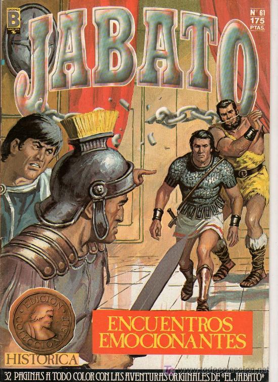 JABATO Nº 61. ENCUENTROS EMOCIONANTES. EDICIONES B. GUPO ZETA. (Tebeos y Comics - Ediciones B - Clásicos Españoles)