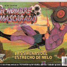 Cómics: EL HOMBRE ENMASCARADO Nº 65. EDICIONES B GRUPO Z. LAS SIRENAS DEL ESTRECHO. Lote 18064221