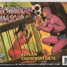 Cómics: EL HOMBRE ENMASCARADO Nº 68. EDICIONES B GRUPO Z. EL PLAN CUARENTA Y SIETE. Lote 18064266