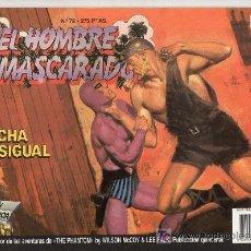Cómics: EL HOMBRE ENMASCARADO Nº 72. EDICIONES B GRUPO Z. LUCHA DESIGUAL. Lote 18064310