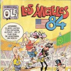Cómics: MORTADELO Y FILEMÓN. LOS ÁNGELES 84. COLECCIÓN OLÉ Nº 296 - M. 86. OLIMPIADAS.. Lote 26877965