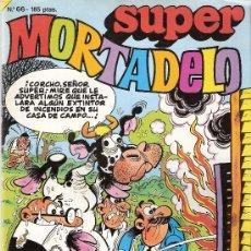 Cómics: SUPER MORTADELO Nº 66 . EDICIONES B, S.A. 1987. Lote 26899506