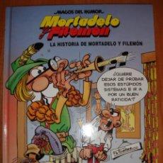 Cómics: MORTADELO Y FILEMÓN, MAGOS DEL HUMOR, LA HISTORIA DE MORTADELO Y , COMIC EN TAPA DURA, ESTADO NUEVO. Lote 25671633