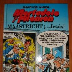 Cómics: MORTADELO Y FILEMÓN, MAGOS DEL HUMOR, MAASTRICH..... , COMIC EN TAPA DURA, ESTADO NUEVO. Lote 27525843