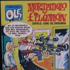 Cómics: MORTADELO Y FILEMÓN CONTRA EL GANG DEL CHICHARRON. COLECCIÓN OLÉ! (NÚM. 153-M.83, 2A EDICIÓN, 1989). Lote 18391104
