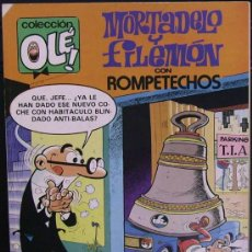 Cómics: MORTADELO Y FILEMÓN. COLECCIÓN OLÉ! (NÚM. 207-M.131, 1A EDICIÓN, MAYO 1989). Lote 18391305