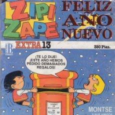 Cómics: ZIPI Y ZAPE EXTRA FELIZ AÑO NUEVO 1987. EDICIONES B.. Lote 26672802