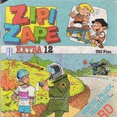 Cómics: ZIPI Y ZAPE EXTRA Nº 12. CON POSTER A TODO COLOR DE ZIPI Y ZAPE. ESPECIAL SKATEBOARD. EDICIONES B.. Lote 26672803
