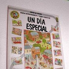 Cómics: UN DÍA ESPECIAL. JOANNE FLINDALL. COLECCIÓN WALLY Nº 1. EDICIONES B, 1990. TRADUCE VÍCTOR MORA.. Lote 26339450