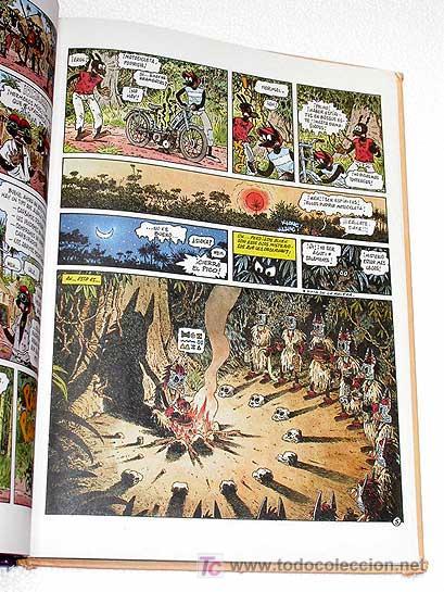 Cómics: ¡SALUD ÁFRICA! KEUBLA Y KEBRA EN ÁFRICA POR JANO. DRAGÓN CÓMICS Nº 1. 1990. TRADUCE VÍCTOR MORA. - Foto 2 - 26817893
