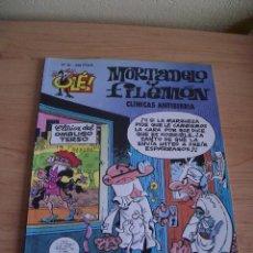 Cómics: MORTADELO Y FILEMON. CLINICAS ANTIRRABIA. CON RELIEVE. COLECCION OLE. 1ª EDICION 1994. EDICIONES B. Lote 97299192