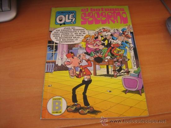 EL BOTONES SACARINO Nº 284-I 9 COLECCION OLE EDICIONES B 1987 (Tebeos y Comics - Ediciones B - Otros)