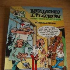 Cómics: MORTADELO Y FILEMON, Y EL BOTONES SACARINO. EL EMBROLLO MATUTINO. ED. B, 1ª EDICION 1995. RELIEVE. Lote 97299126