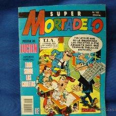 Comics: SUPER MORTADELO Nº 92 - POSTER DE LUCIEN - EDICIONES B 1991. Lote 22369992