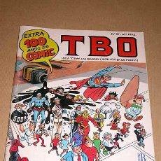 Cómics: TBO Nº 97, EXTRA 100 AÑOS DE CÓMIC. EDICIONES B 1996. HOMENAJES AL CAPITÁN TRUENO Y MÁS PERSONAJES +. Lote 26658373