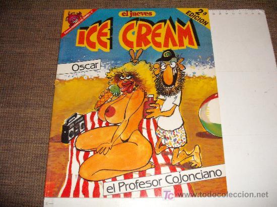 COMIC HUMOR ADULTOS EL JUEVES: PROFESOR COJONCIANO ICE CREAM NUEVO (Tebeos y Comics - Ediciones B - Otros)