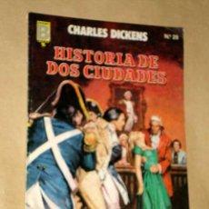 Cómics: HISTORIA DE DOS CIUDADES, CHARLES DICKENS. GRANDES AVENTURAS Nº 29. BOSCH, JOSÉ Mª CASANOVAS. ED. B.. Lote 26609086