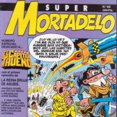 Cómics: SUPER MORTADELO Nº 83. ESPECIAL EL CAPITAN TRUENO. EDICIONES B.. Lote 35430329