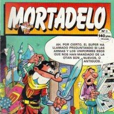 Cómics: MORTADELO Nº 3 - 1987. Lote 25983513