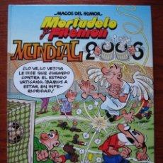 Cómics: MAGOS DEL HUMOR Nº 110 . MORTADELO MUNDIAL 2006 . NUEVO !. Lote 26712867