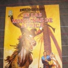 Cómics: GRANDES AVENTURAS Nº 8. EN LAS MONTAÑAS DE AFRICA EDICIONES B 1987 .........C18. Lote 25296935