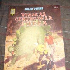 Cómics: GRANDES AVENTURAS Nº 11 VIAJE AL CENTRO DE LA TIERRA EDICIONES B 1987 .........C18. Lote 25296937