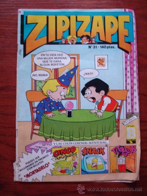ZIPI ZAPE Nº 31 EDICIONES B . (Tebeos y Comics - Ediciones B - Humor)