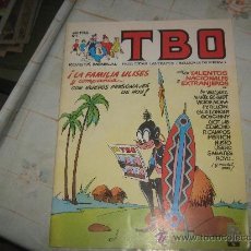 Cómics: TBO Nº 1 AÑO 1988. Lote 21832774