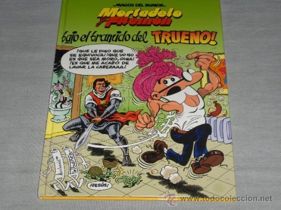 MAGOS DEL HUMOR 112 MORTADELO CON CAPITÁN TRUENO. ED. B 1ª ED 2006. REGALO Nº 50 EL NUEVO CATE. (Tebeos y Comics - Ediciones B - Humor)
