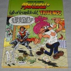Cómics: MAGOS DEL HUMOR 112 MORTADELO CON CAPITÁN TRUENO. ED. B 1ª ED 2006. REGALO Nº 50 EL NUEVO CATE.. Lote 22079600