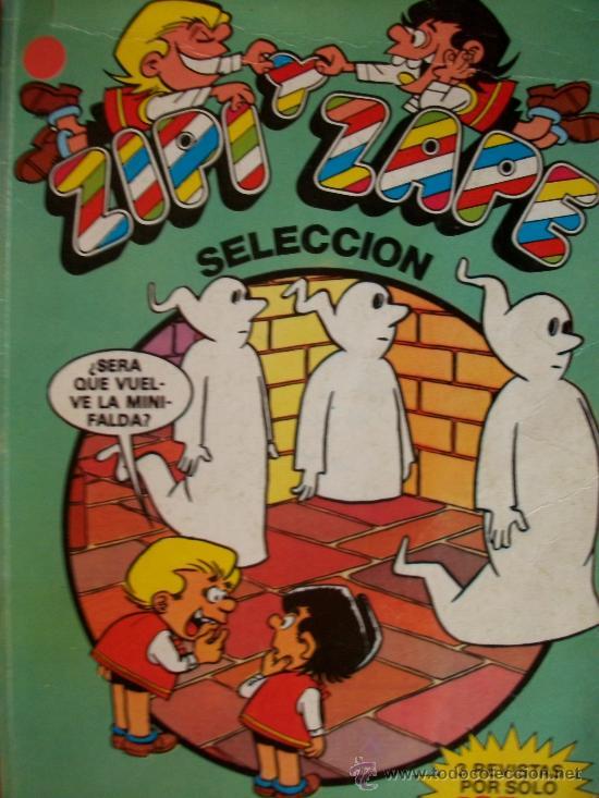 ZIPI Y ZAPE SELECCIÓN, NUM. 8, EDICONES B GRUPO ZETA (Tebeos y Comics - Ediciones B - Humor)