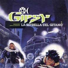 Cómics: MARINI - GIPSY Nº 1 - LA ESTRELLA DEL GITANO - EDICIONES B 1995 - 64 PÁGINAS COLOR. Lote 25067668