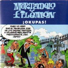Cómics: MORTADELO Y FILEMON ¡OKUPAS! - ED.B 2003. Lote 23174088