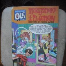 Fumetti: MORTADELO Y FILEMON -LOS INVENTOS DEL PROFESOR BACTERIO CL OLE - Nº 98 - M.64 - 1ª EDI - MAYO 1988. Lote 120997039