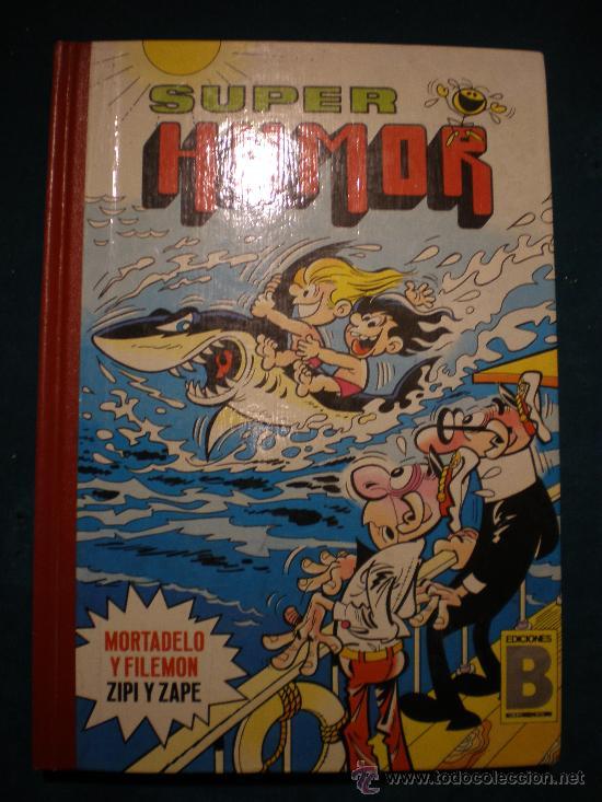 SUPER HUMOR - VOLUMEN 13 - EDICIONES B - ZIPI Y ZAPE - MORTADELO Y FILEMON - 1987 (Tebeos y Comics - Ediciones B - Clásicos Españoles)