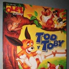 Cómics: OLE DISNEY Nº 4 - TOD Y TOBY - EDICIONES B. Lote 27428889