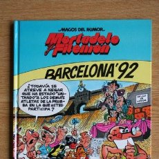 Cómics: MAGOS DEL HUMOR. MORTADELO Y FILEMÓN. BARCELONA 92.. Lote 132543578