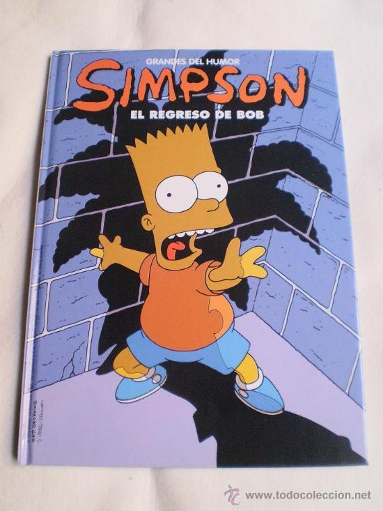 GRANDES DEL HUMOR NUMERO 12,LOS SIMPSON. (Tebeos y Comics - Ediciones B - Humor)