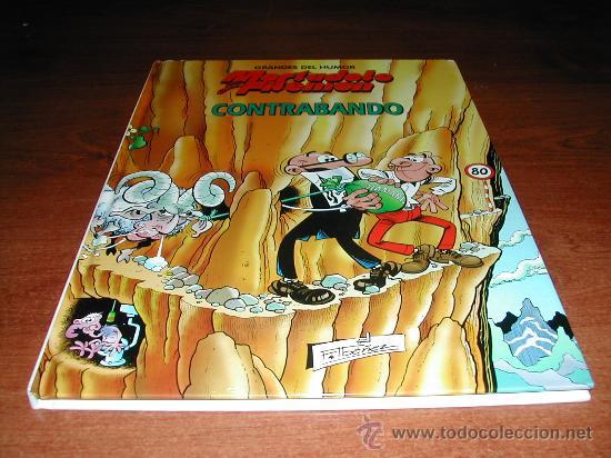 MORTADELO Y FILEMON: CONTRABANDO (GRANDES DEL HUMOR 6) TAPA DURA (Tebeos y Comics - Ediciones B - Clásicos Españoles)