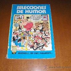 Cómics: TOMO DE SELECCIONES DE HUMOR - PULGARCITO Nº 8 , MORTADELO Nº 8 , MORTADELO Nº 9 , ZIPI Y ZAPE Nº 7 . Lote 26477628