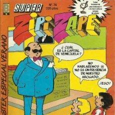 Cómics: SUPER ZIPI Y ZAPE EDICIONES B Nº 74 CON POSTER ESPECIAL VERANO.. Lote 26147405