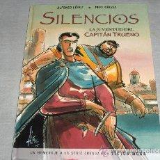 Cómics: SILENCIOS LA JUVENTUD DEL CAPITÁN TRUENO. EDICIONES B 1ª EDICIÓN 2006. .. Lote 24751722