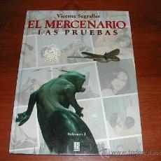 Cómics: EL MERCENARIO VOLUMEN Nº 3: LAS PRUEBAS (VICENTE SEGRELLES) FORMATO GRANDE 34 X 25 CM. (JC). Lote 27638917