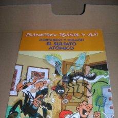 Cómics: FRANCISCO IBAÑEZ Y OLE!. MORTADELO Y FILEMON: EL SULFATO ATOMICO. EDICIONES B, 2001.. Lote 27073548