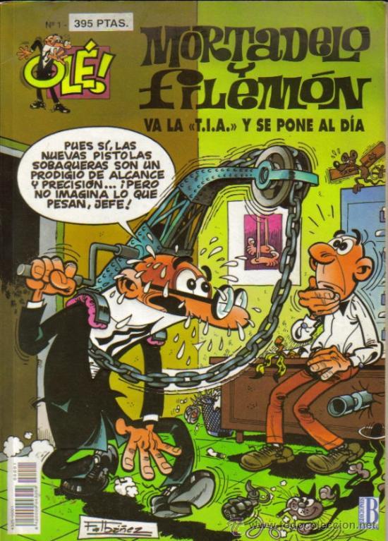 OLÉ ! MORTADELO Y FILEMON ( B ) ORIGINALES 1993 - 2009 LOTE (Tebeos y Comics - Ediciones B - Humor)