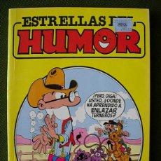 Comics: ESTRELLAS DEL HUMOR Nº 10 O 7 MORTADELO Y FILEMON ZIPI Y ZAPE DOÑA URRACA HUGH TITO GLUB SUPER LOPEZ. Lote 27842225